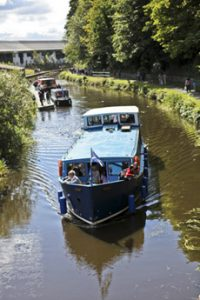 Kirkintilloch Canal barge